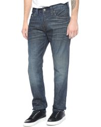 True Religion Dean Tapered Mens Jean - Lyst