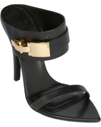 Anthony Vaccarello X Versus Versace 130mm Leather Pumps - Lyst