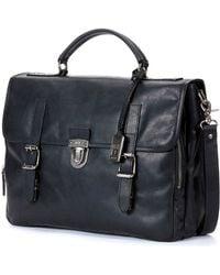 Frye Logan Buckled Briefcase