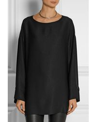 The Row Lyba Oversized Jersey Top - Lyst