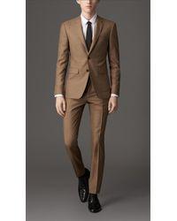 Burberry Slim Fit Wool Silk Suit - Lyst