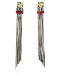 Iosselliani - Full Metal Jewels Earrings - Lyst