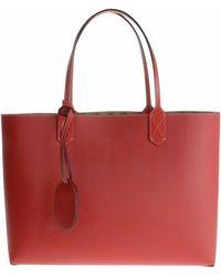 Gucci Borsa Reversibile Media In Pelle Rossa H - Lyst