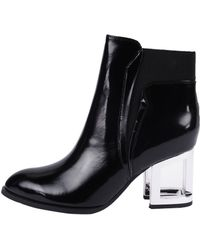 Jeffrey Campbell | Jensen-MH Leather Ankle Boots | Lyst