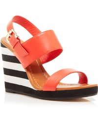 Kate Spade Open Toe Wedge Sandals - Bina - Lyst