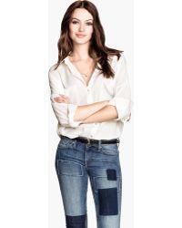 H&M Wide Shirt - Lyst