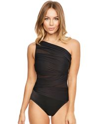Miraclesuit - Black Network Jena Firm Control Swimsuit - Lyst