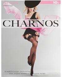 Charnos - 10 Denier Run Resist Stocking - Lyst