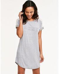 DKNY - Lounge Essentials S/s Sleepshirt - Lyst