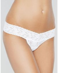 Hanky Panky - Signature Lace Low Rise Thong - Lyst