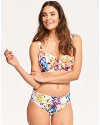 Fantasie - Agra Underwired Lightly Padded Full Cup Bikini Top - Lyst