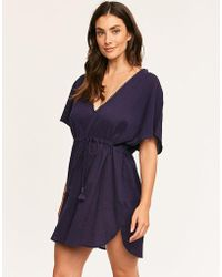 Figleaves - Capri Woven Cover Up - Lyst