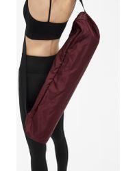 Filippa K - Yoga Mat Bag Maroon - Lyst