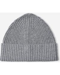 Filippa K - Soft Wool Beanie Grey Melange - Lyst