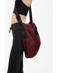 Filippa K - Sporty Tote Bag Maroon - Lyst