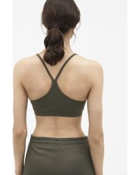 Filippa K - Yoga Bra Top Olive - Lyst