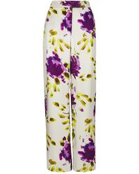 Finery London | Abelia Printed Trousers | Lyst