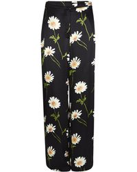 Finery London - Abelia Black Floral Print Trousers - Lyst