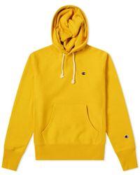 Champion - Classic Hoodie - C Glod/yellow - Lyst