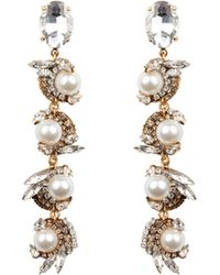 Erickson Beamon - Delicate Balance Drop Earrings - Lyst