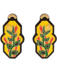 Anna E Alex - Brasile Flower Earrings In Yellow - Lyst
