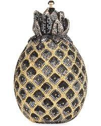 Judith Leiber - Hilo Pineapple Crystal Clutch - Lyst