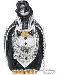 Judith Leiber - Alfred Penguin Crystal Clutch - Lyst