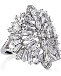 Fallon - Monarch Deco Medallion Ring - Lyst