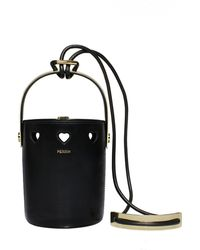PERRIN Paris - Le Mini Seau Heart Bucket Bag - Lyst