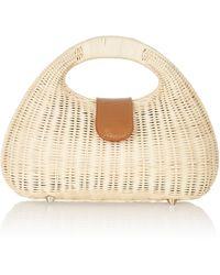Rocio - Mandy Wicker Handbag - Lyst