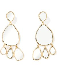 Aurelie Bidermann - Ciottolo Mirror Earrings - Lyst