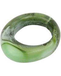 Dinosaur Designs - Resin Malachite Ring - Lyst