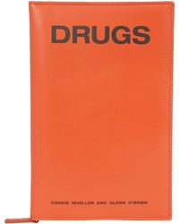 "Raf Simons - Orange ""drugs"" Case By - Lyst"