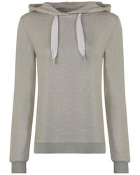 BOSS Orange - Tech Hooded Sweatshirt - Lyst