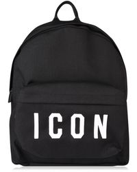 DSquared² - Icon Logo Backpack - Lyst