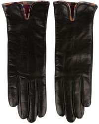 Paul Smith - Leather Gloves - Lyst