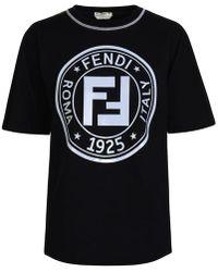 Fendi Ff Leisure T Shirt