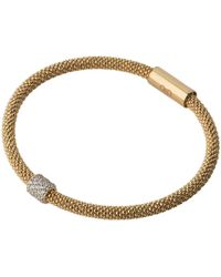Links of London - Star Dust Yellow Gold Plate Round Bracelet - Lyst