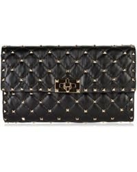 Valentino - Quilted Rockstud Cross Body Bag - Lyst