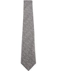 Canali - Salt Pepper Tie - Lyst