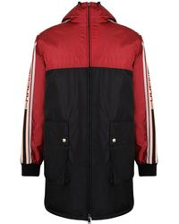 20840cafe188c Gucci - Men s Nylon Coat With Stripe - Jupiter Multi - Size 46 (36)