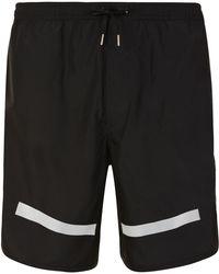 Neil Barrett - Reflective Swim Shorts - Lyst
