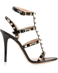 Valentino - Rockstud Multi Strap Heels - Lyst
