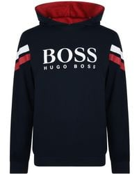 BOSS by Hugo Boss - Authentic Popover Hoodie - Lyst