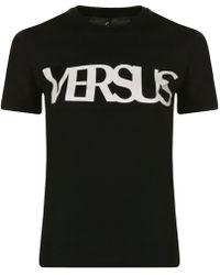 Versus - Large Logo T Shirt - Lyst