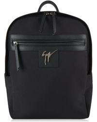 Giuseppe Zanotti - Logo Canvas Backpack - Lyst