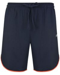 037daba8a BOSS by Hugo Boss Mix & Match Grey Marl Lounge Shorts in Gray for ...