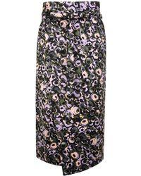 Marni - Floral Wrap Skirt - Lyst