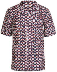Valentino - Scale Short Sleeve Shirt - Lyst