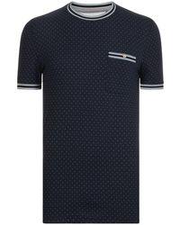 Ted Baker - Glaad Polka Dot T Shirt - Lyst